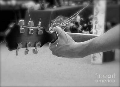 Musicians Royalty Free Images - Street Musician Royalty-Free Image by Skip Willits