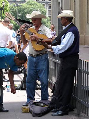 Photograph - Street Musicians - Sao Paulo by Julie Niemela
