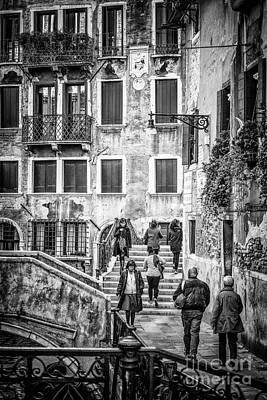 Photograph - Street Of Venice by Traven Milovich