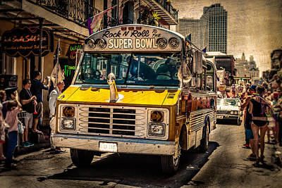 Photograph - Street Parade Bus by Melinda Ledsome