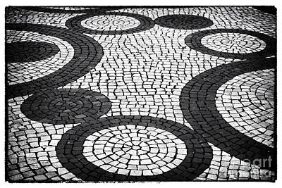 Photograph - Street Patterns In Aveiro by John Rizzuto
