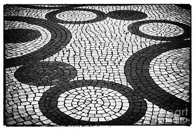 Photograph - Street Patterns In Aveiro by John Rizzuto