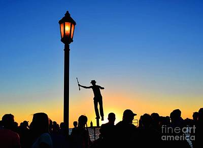 Mallory Square Key West Wall Art - Photograph - Street Performer by Debbi Granruth