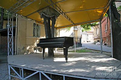 Tbilisi Photograph - Street Piano by Lali Kacharava
