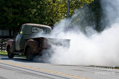 Photograph - Street Rat Rod Fun  by Wilma  Birdwell