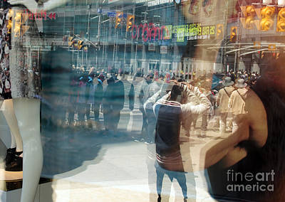 Photograph - Street Reflected In The Store Window by Igor Kislev