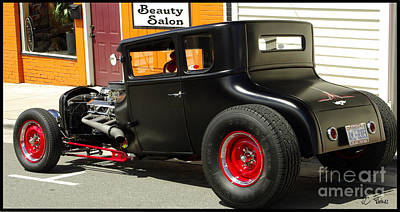 Photograph - Street Rod Beauty by James C Thomas