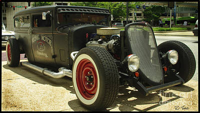 Photograph - Street Rod Show by James C Thomas