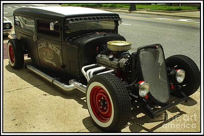 Photograph - Street Rod Show Two by James C Thomas