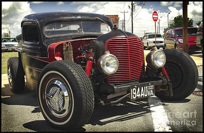 Photograph - Street Rod Truck by James C Thomas