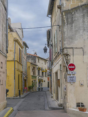 Photograph - Street Scene Arles France by Bob Coates