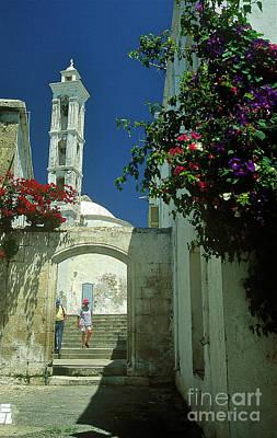Street-scene In Kyrenia In Northern Cyprus  Print by Alex Cassels