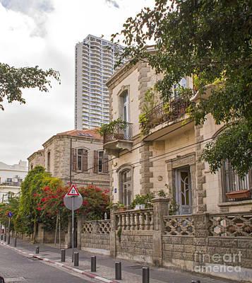Street Scene In Tel Aviv - Neve Zedek District Original by Rita Kapitulski