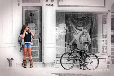 Photograph - Street Scene by Joseph J Stevens