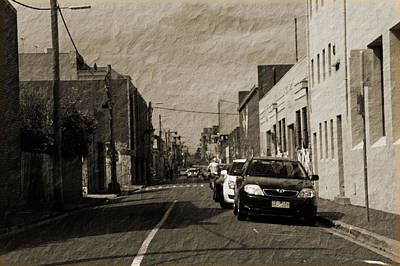 Photograph - Street Scene by Maria  Disley