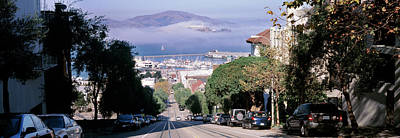 Street Scene, San Francisco Print by Panoramic Images
