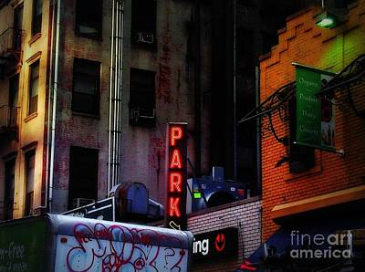 Photograph - Graffiti And Grand Old Buildings by Miriam Danar