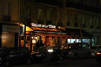 Chair Photograph - Street Scenes - Paris France - 011318 by DC Photographer