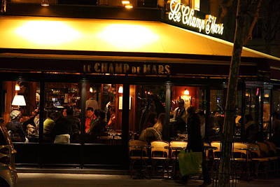 French Photograph - Street Scenes - Paris France - 011320 by DC Photographer