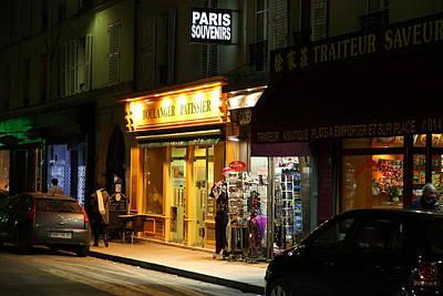 Street Scenes - Paris France - 011322 Art Print by DC Photographer