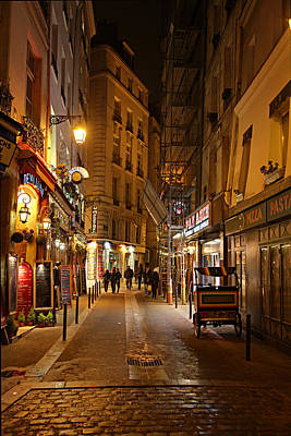Street Scenes - Paris France - 011329 Art Print