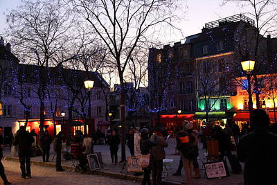 Building Photograph - Street Scenes - Paris France - 01136 by DC Photographer
