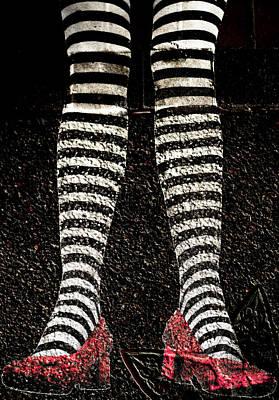 Street Shoes Art Print