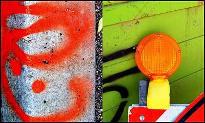 Street Sights 5 Art Print by Marlene Burns
