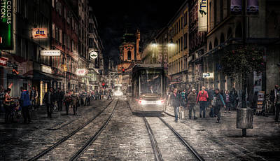 Railroads Photograph - Street Stories by Jackson Carvalho