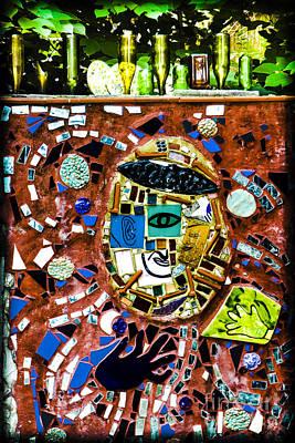 Nyc Subway Mosaic Photograph - Street Surrender  by Gary Keesler