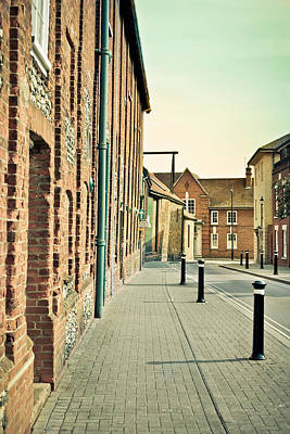 Brick Building Photograph - Street  by Tom Gowanlock
