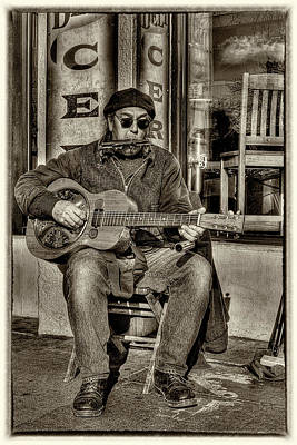 City Streets Photograph - Street Tunes by David Patterson
