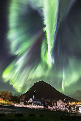 Aurora Borealis Photograph - Street View II by Frank Olsen