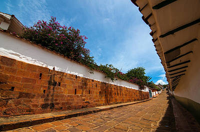 Barichara Photograph - Street View Of A Colonial Town by Jess Kraft
