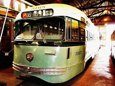 Photograph - Streetcar 3165 by Glenn McCarthy Art and Photography