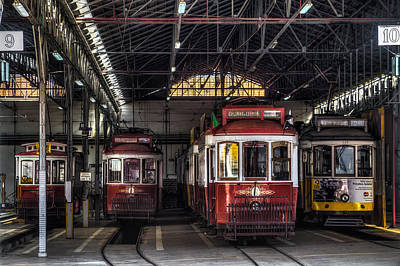 Photograph - Streetcars II by Marco Oliveira
