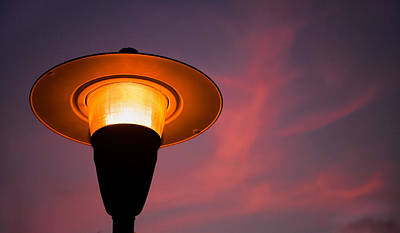 Photograph - Streetlamp by David Smith