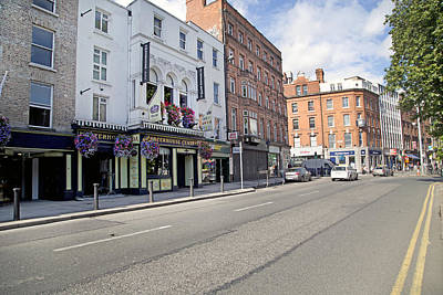 Beer Royalty-Free and Rights-Managed Images - Streets--Ireland Dublin by Betsy Knapp