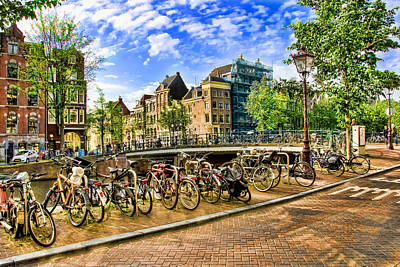 Photograph - Streets Of Amsterdam by Brent Durken