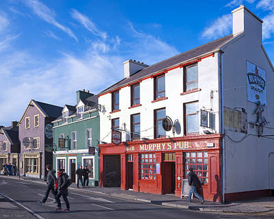 Photograph - Streets Of Beautiful Dingle Ireland by Mark E Tisdale