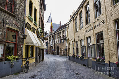 Photograph - Streets Of Brugges 2 by Crystal Nederman