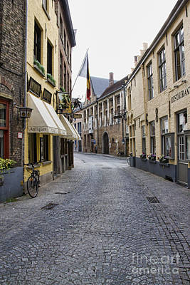Photograph - Streets Of Bruges by Crystal Nederman