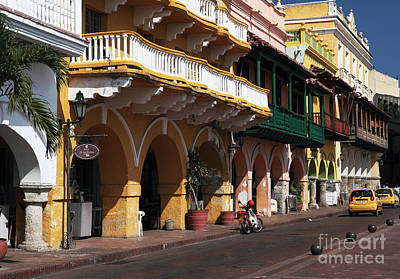 Photograph - Streets Of Cartagena by John Rizzuto