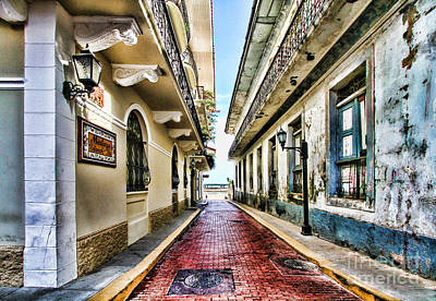 Photograph - Streets Of El Casco Viejo 2  by Diana Raquel Sainz