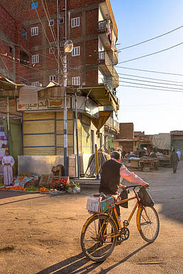 Photograph - Streets Of Everyday Egypt by Mark E Tisdale