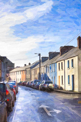 Photograph - Streets Of Galway On A Winter Morn by Mark E Tisdale