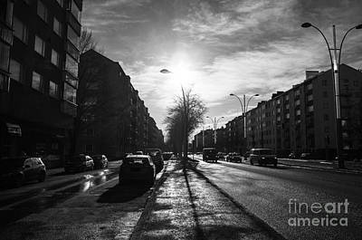 Photograph - Streets Of Helsinki by Ismo Raisanen