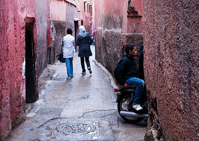 Streets Of Marrakesh Art Print by Daniel Kocian