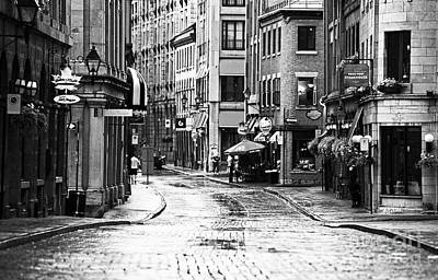 Old Montreal Photograph - Streets Of Montreal by John Rizzuto