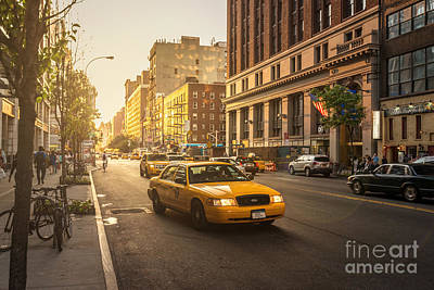 Photograph - Streets Of New York by Matt Malloy